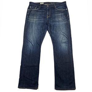 AG Protege Dark Wash Denim Straight Leg Jean
